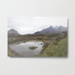 Mountains Lewis and Harris 1 Metal Print