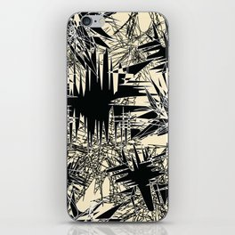 White Chaos iPhone Skin