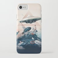 ufo iPhone & iPod Cases featuring UFO by Tanya_tk