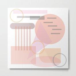 Abstract Geometric #society6 #decor #buyart #artprint Metal Print