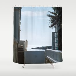 Sea view - Royan, France Shower Curtain