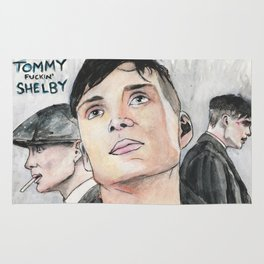 Tommy Fuckin' Shelby Rug