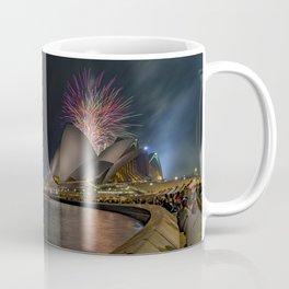 Fireworks over Sydney Opera House Coffee Mug