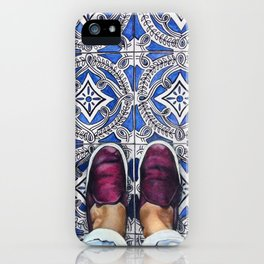 Art Beneath Our Feet - Ancona, Italy iPhone Case