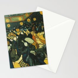 Vincent van Gogh - The Dance Hall in Arles Stationery Cards