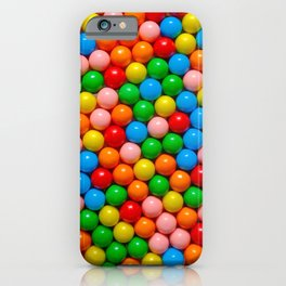 Mini Gumball Candy Photo Pattern iPhone Case