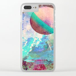Spaaaaaace Clear iPhone Case