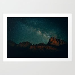 The Watchman Art Print