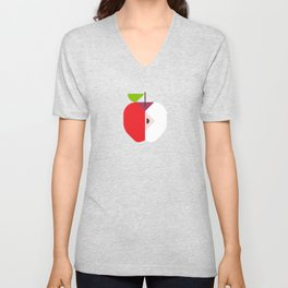 Fruit: Apple Unisex V-Neck