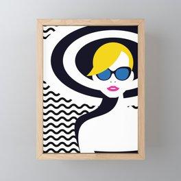 Resort Style II Framed Mini Art Print