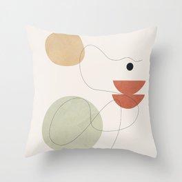 Minimal Shapes No.48 Throw Pillow