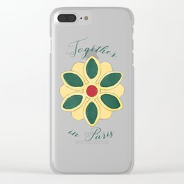 Together in Paris Clear iPhone Case