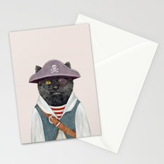 Pirate Cat Stationery Cards