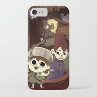 over the garden wall iPhone & iPod Cases featuring over the garden wall by Tae V