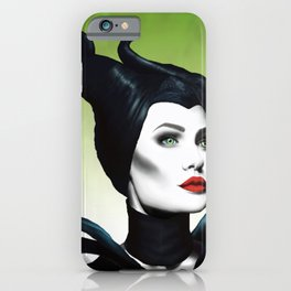 Maleficent Digital Painting iPhone Case