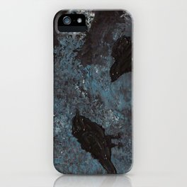 Distorted Caw iPhone Case