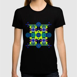 Retro Circle Diamonds T-shirt