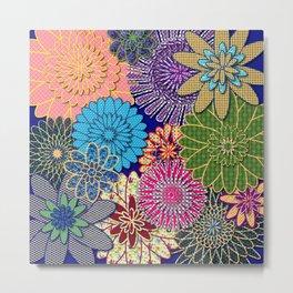Flower Garden Too Metal Print