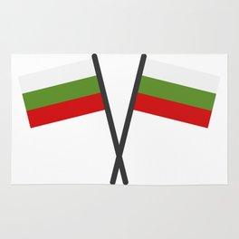 Bulgarian flag Rug