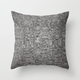 The coffee maker Throw Pillow