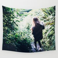 wander Wall Tapestries featuring Wander by Johnny Frazer