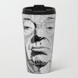 Fingerprint - Hitchcock Metal Travel Mug
