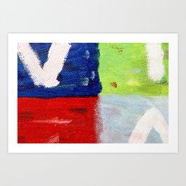 Viva la vida bright Art Print