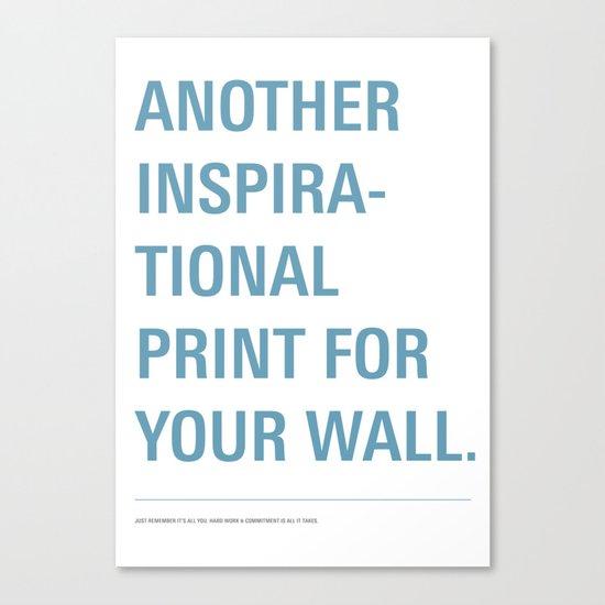 Inspiration. Canvas Print