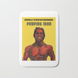 Pumping Iron Bath Mat