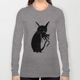 Mama Cat Long Sleeve T-shirt