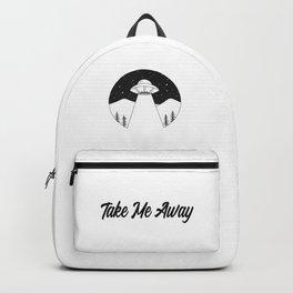 'Take Me Away' UFO Backpack
