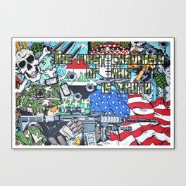 Nation United Canvas Print