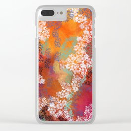 Untitled Abstract Clear iPhone Case