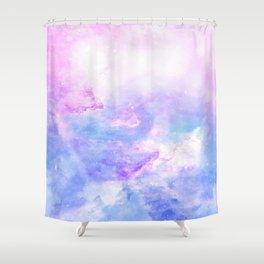Lavander pink galaxy Shower Curtain