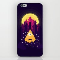 bill iPhone & iPod Skins featuring BILL by badOdds