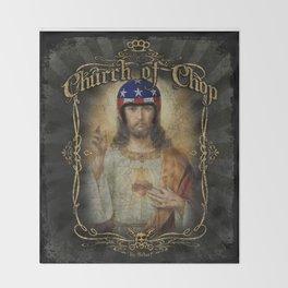 Hot Rod Jesus Throw Blanket