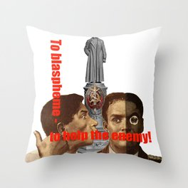 Enemy USSR Throw Pillow