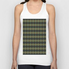 Peacock Bead Abstract Unisex Tank Top