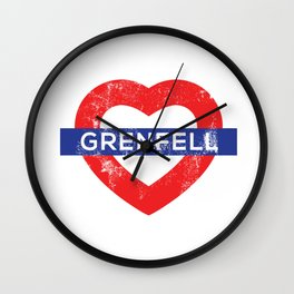 Grenfel tower Wall Clock