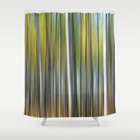 blur Shower Curtains featuring Blur by Angela King-Jones