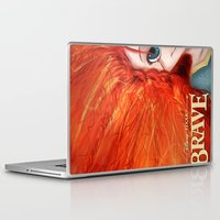 merida Laptop & iPad Skins featuring Brave: Merida by Schewy