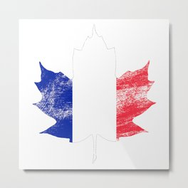 France/Canada Metal Print