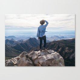 Emory Peak Canvas Print