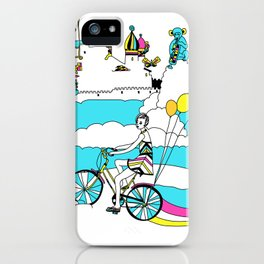 PING PONG SPRING iPhone Case