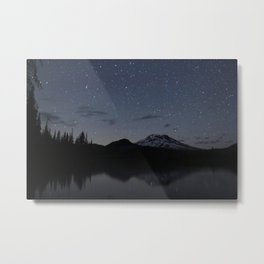 South Sister from Sparks Lake Metal Print