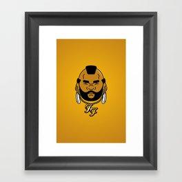 foo' fighter. Framed Art Print