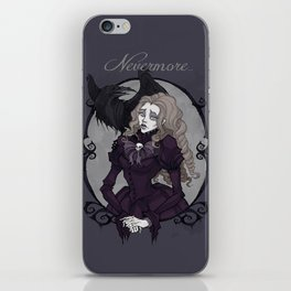 Lenore Portrait iPhone Skin