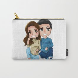 Alden and Maine Sitting Carry-All Pouch