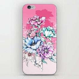 Poppy Bouquet- Pink iPhone Skin