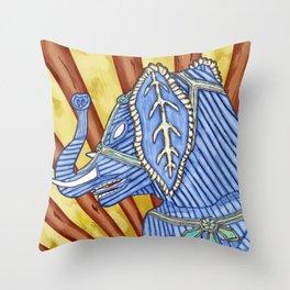 Super Senior Elephante Throw Pillow